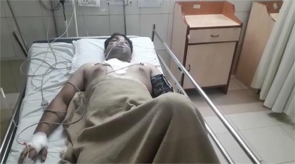 bjp leader s nephew shot dead