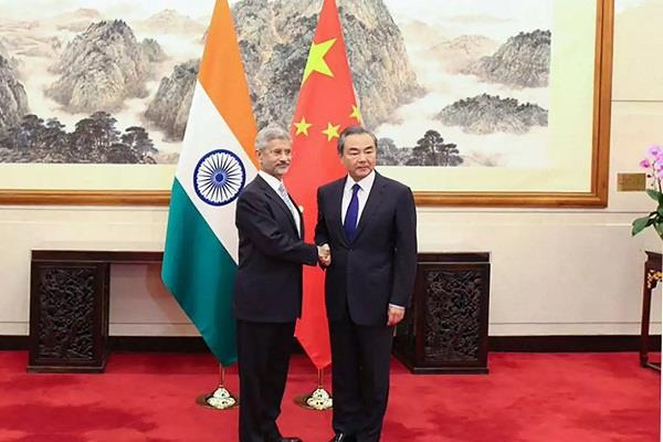 foreign ministers of the india china will meet for the first time