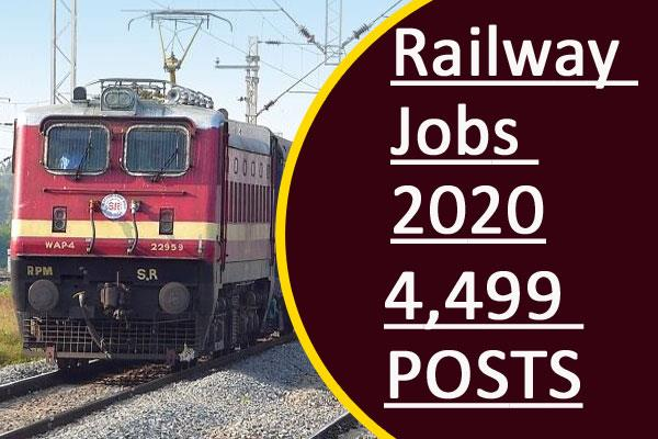 4 499 vacancies at northeast frontier railway class 10th pass