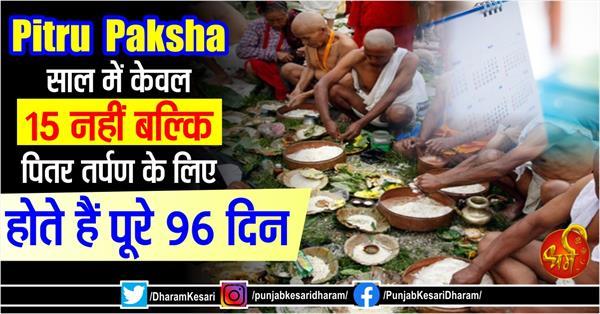 pitru paksha 2020 96 days of shradh