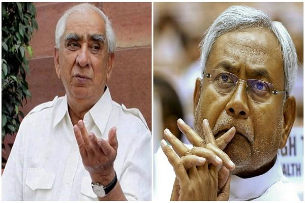 cm nitish mourns the death of former union minister jaswant singh