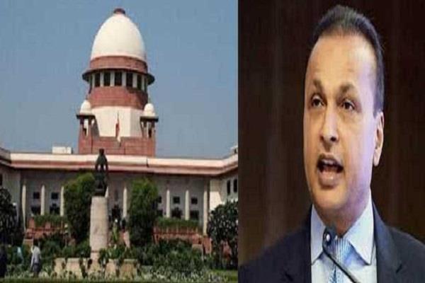 supreme court grants relief to anil ambani sbi s plea rejected