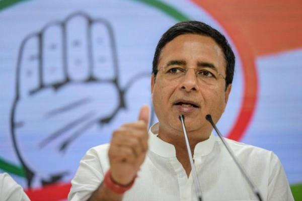 surjewala said poor s son and daughter dream of becoming a doctor broke
