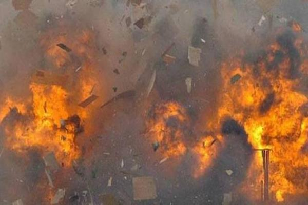 army major among two injured in loc explosion