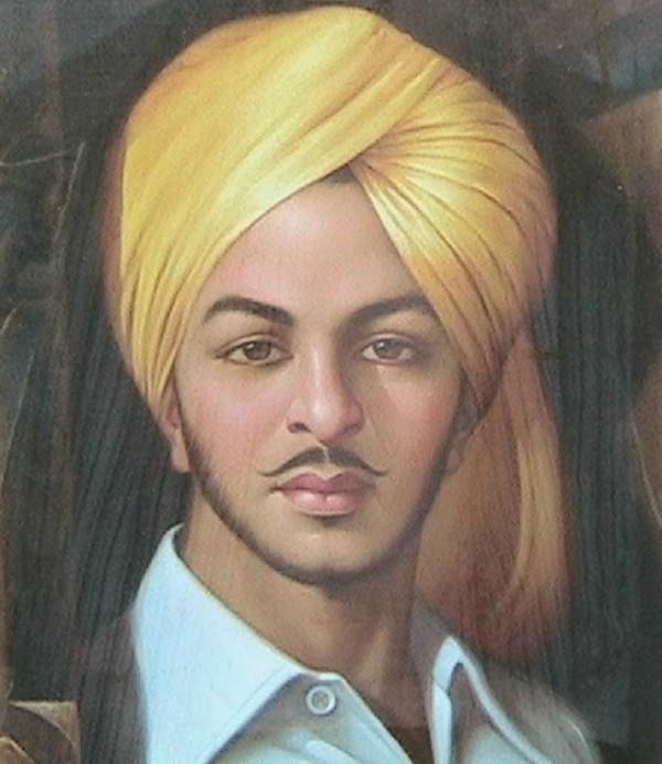 pm modi remembers bhagat singh mahatma gandhi shastri raje scindia