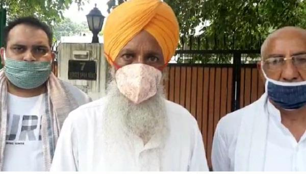 gurnam singh chadhuni refused to meet the union agriculture minister