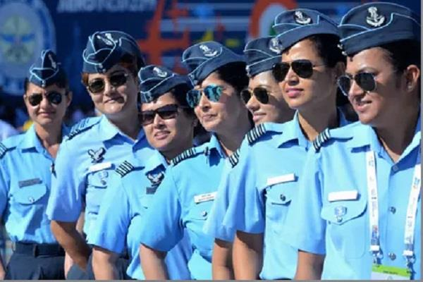 government says 1875 women officers serving in the air force