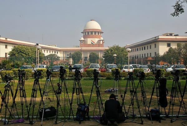 supreme court expressed concern over debate on news channels