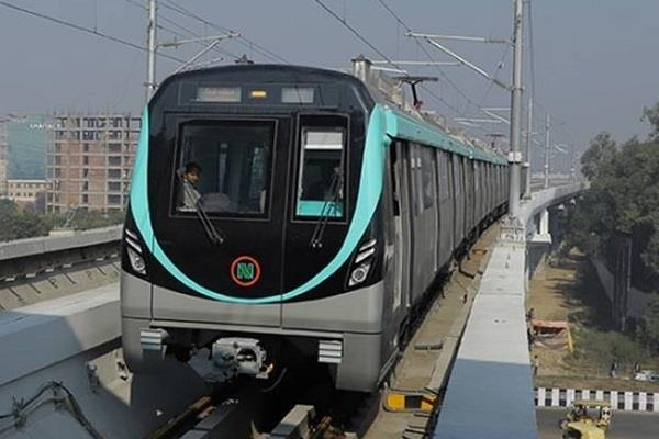 noida greater noida metro line will run from monday