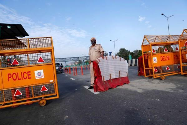 police forces deployed in delhi border areas in view of farmers protests