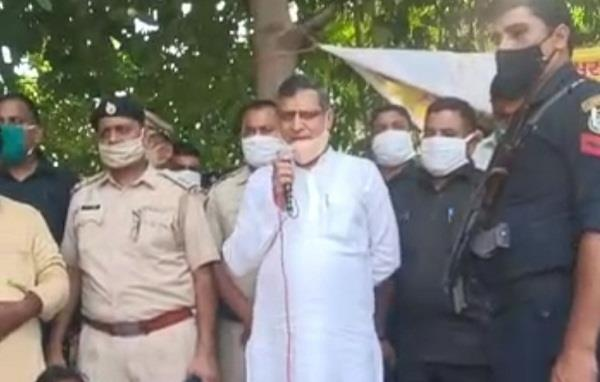education minister reached sudden employees protest