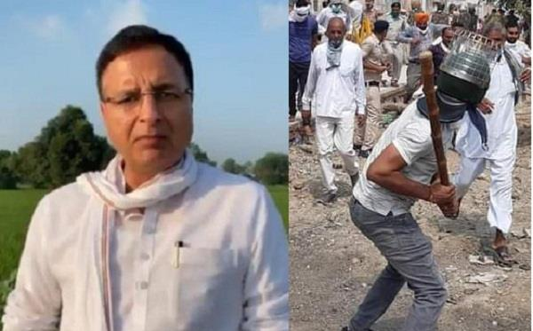 surjewala attacked the government