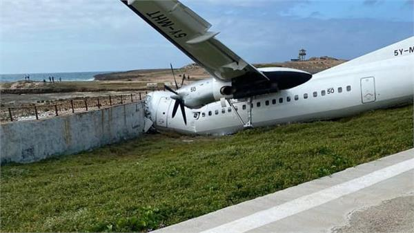 witnesses say cargo plane crashes at airport in mogadishu