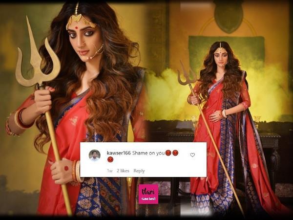 नुसरत जहां को मिली जान से मारने की धमकी, देवी दुर्गा बनकर करवाया था फोटोशूट