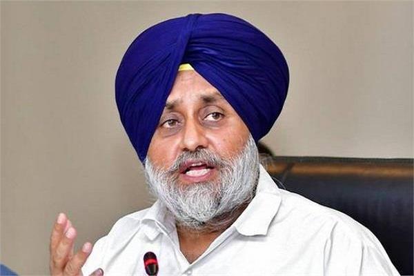 sukhbir badal said after harsimrat resignation
