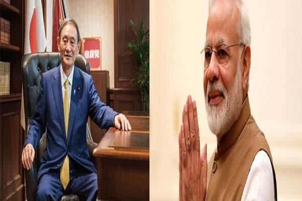 prime minister modi congratulatory message to the new pm of japan