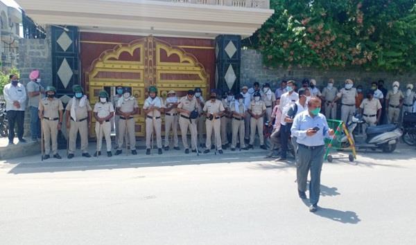 farmers resentment increased against deputy cm dushyant
