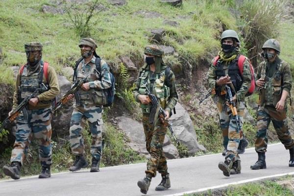 infiltration attempt on ib failed bsf kills five terrorists