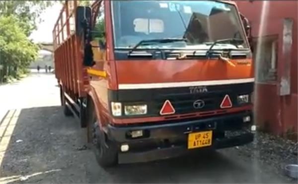 truck driver shot dead by unknown miscreants broken on the spot