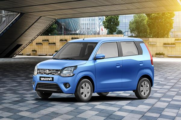 maruti s cng version of wagonr sales surpassed 3 lakh units