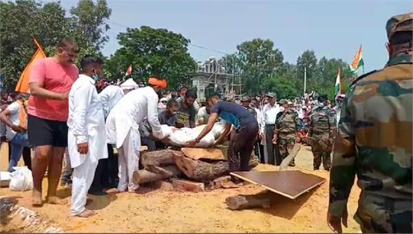 youth ready to avenge martyr bhupendra martyrdom