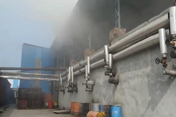 fierce fire in shivam wood industries loss of millions