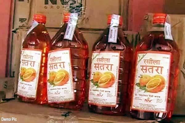 liquor consignment recovered from vehicle