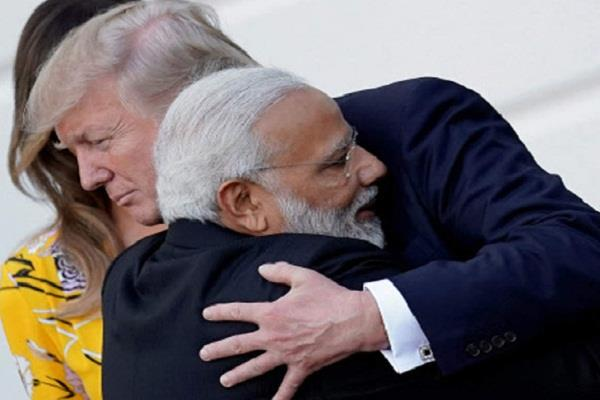 indian americans trust pm modi friend trump