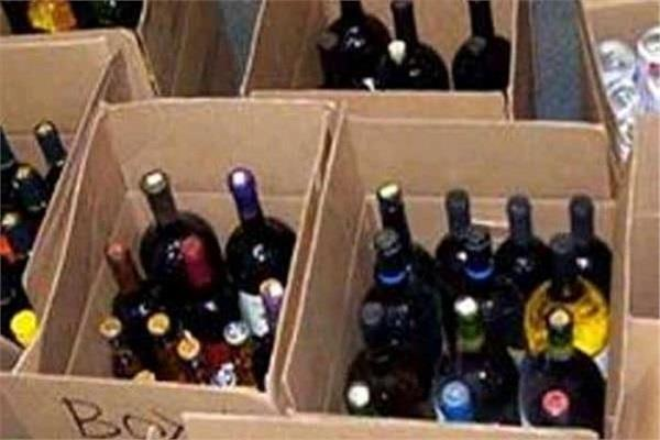 police recovered a cache of fake liquor 690 country liquor boxes recovered