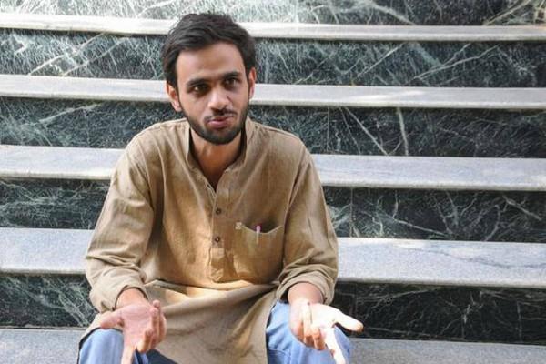 delhi riot umar khalidplea to meet family members rejected