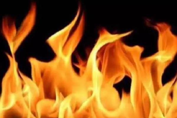 severe fire in isolation ward corona patient dies due to scorching