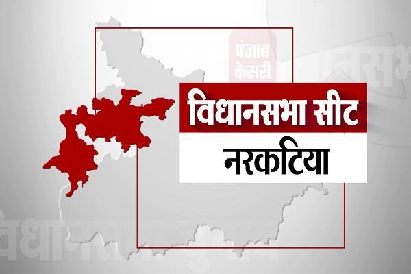 narkatia assembly seat results 2015 2010 2005 bihar election 2020
