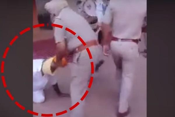 punjab police s shameful act