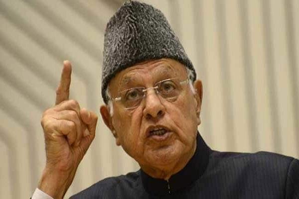 farooq abdullah said kashmiris do not consider themselves indians