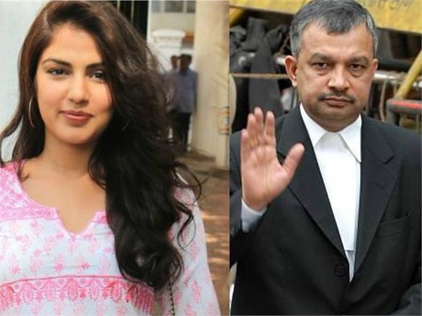 रिया चक्रवर्ती के वकील बोले- एक्ट्रेस ने NCB की पूछताछ में नहीं लिया किसी का नाम