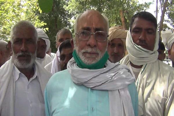 all india kisan sabha protested against irregularities in tubewell