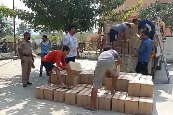 ऊना: 200 पेटी अवैध शराब सहित एक गिरफ्तार