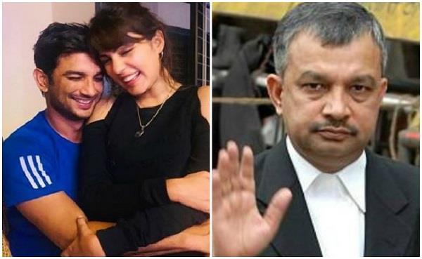 रिया की गिरफ्तारी पर बोले वकील - ड्रग एडिक्ट लड़के से प्यार करने की सजा मिली