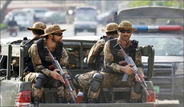 four terrorists killed by security forces in pakistan