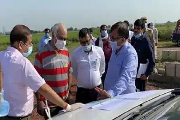 avnish awasthi inspected the land of film city