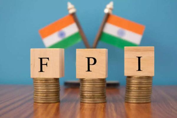 fpis were net sellers in september withdrawing rs 2 038 crore