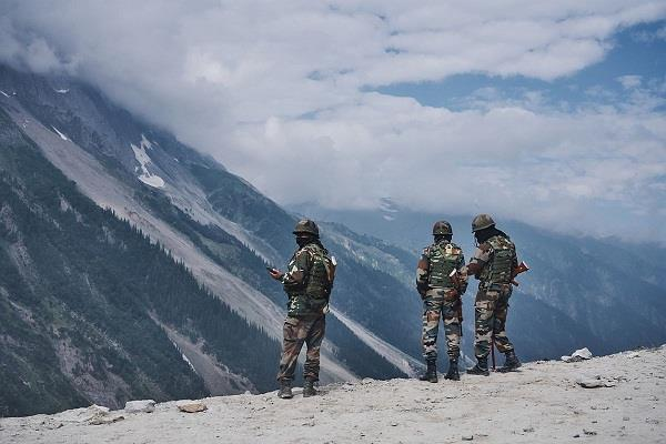 indian army again defeated china captured 6 new hills