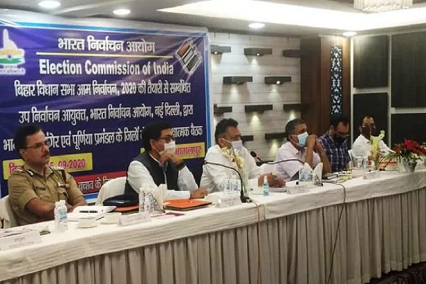 ec central team took stock of election related preparations