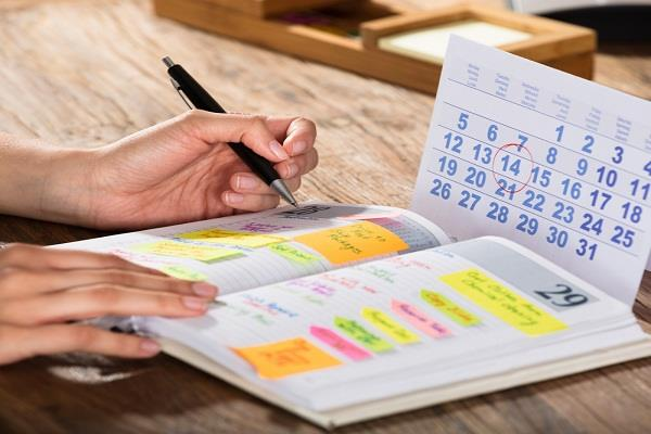 government calendars diaries and schedulers will not print