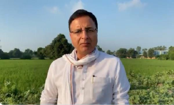 surjewala attacked state government