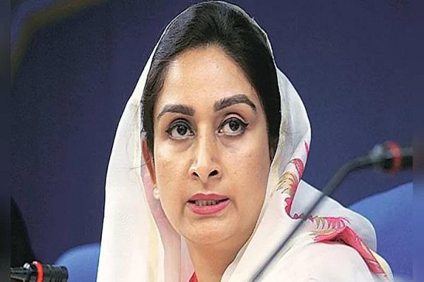 harsimrat kaur resigns as union minister