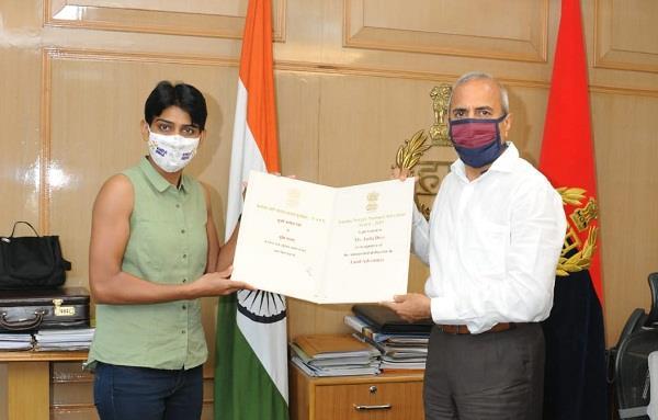 dgp haryana congratulates tenzing norgay national adventure award winner