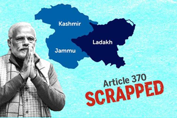 after revoke of article 370 jk is now with country
