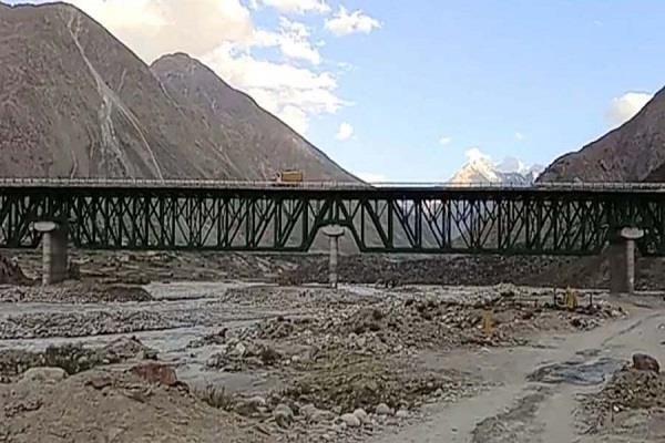 rajnath to inaugurate steel bridge today