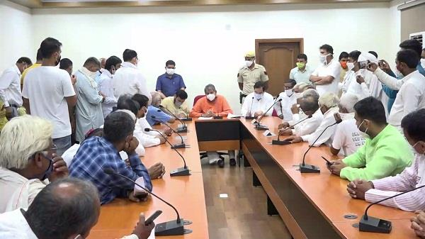 lathi charge case on farmers damage control not made by three bjp mps